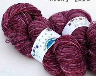 derby girls - terra sock ( dyed to order)