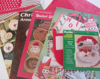 Vintage Christmas Crafting Bundle 1970s - 1980s