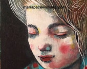 Little Dreamer- Original painting by Maria Pace-Wynters