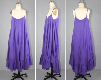sundress / 1970s / bohemian / LAUREL CANYON braided vintage dress