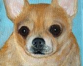 """One 4""""x6"""" Pet Portrait Painting"""