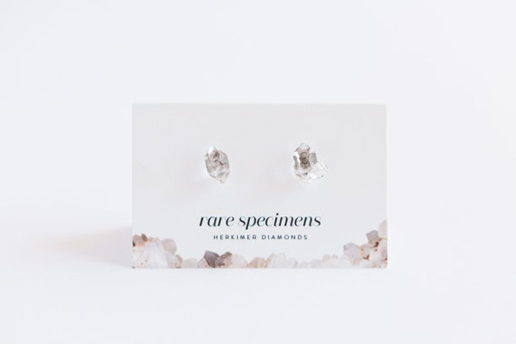 Herkimer Diamond Studs
