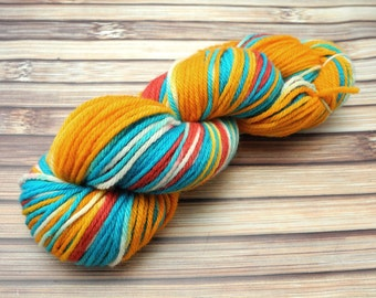 Superhero, Superwash Merino Worsted Hand Dyed Yarn -- IN STOCK