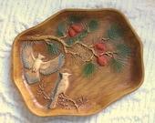 Woodland Kitsch Bird Dresser Tray