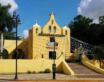 La Iglesia de Colonia La Ermita. The Church of La Ermita Colony.