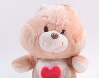 Vintage Care Bears Plush Tenderheart Bear Kenner Stuffed Animal