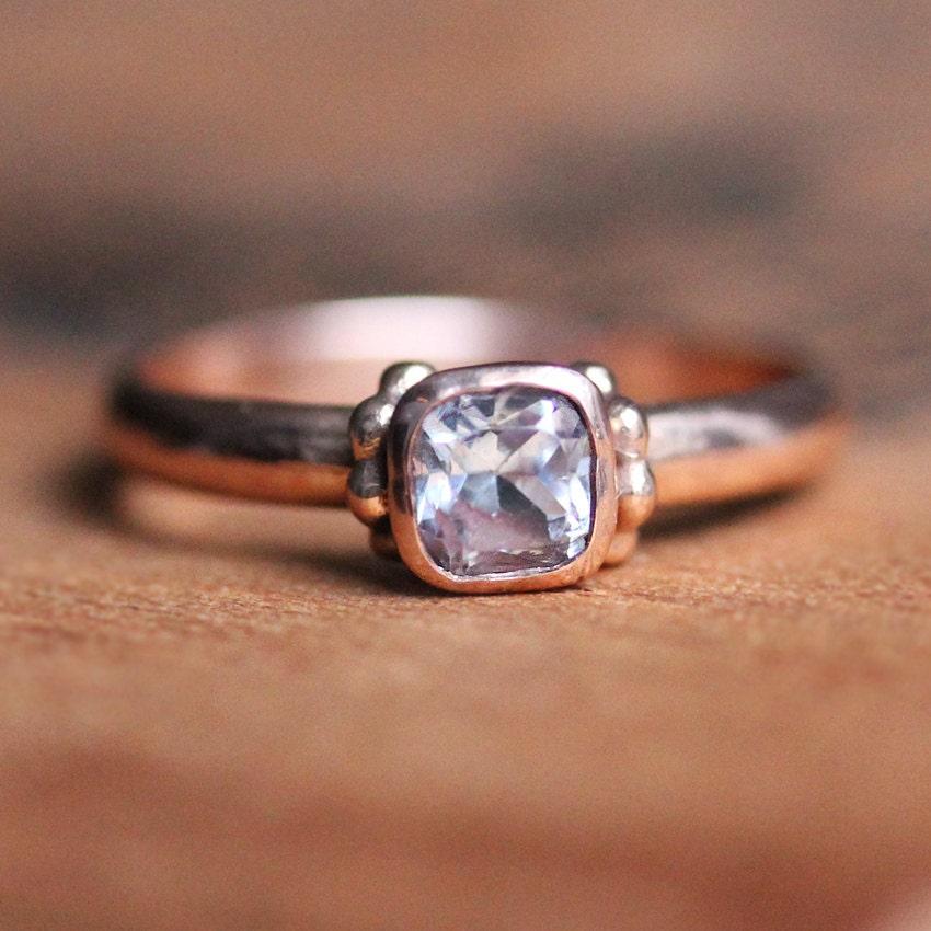 rose gold morganite engagement ring rose gold ring 14k rose. Black Bedroom Furniture Sets. Home Design Ideas