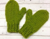 Lemongrass Green Mittens Womens Accessories Womens Mittens Adult Mittens Green Gloves