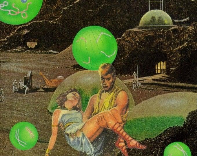 Retro Space Art, Outer Space SciFi Artwork