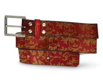 I Am Spartacus Leather Belt, Titan Leather Belt, Roman Belt, Reign Leather Belt, Ink