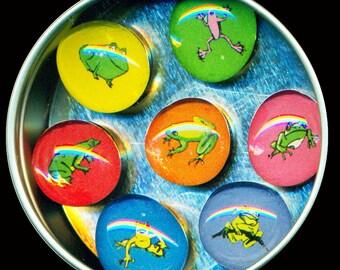 Frog Pig Magnet Set