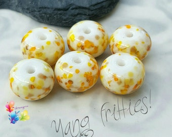 Lampwork Beads Yang Fritties