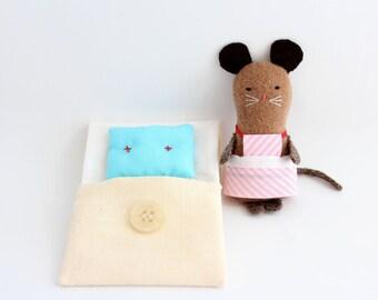 Softie, little beddy-bye - Little mouse
