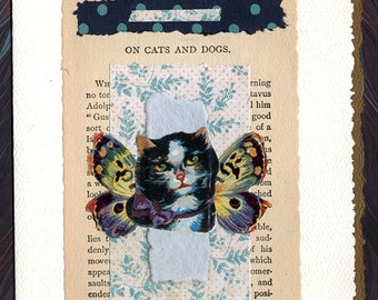 Pet Sympathy Card Cats and Dogs