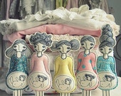 Waiting for a boy or a girl dolls (the price is for one doll)