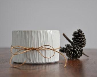 Birch Bowl - Modern Ceramic Planter Porcelain Small bowl