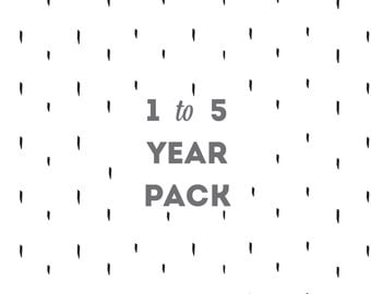 First Years Toddler Pack (Ages 1 through 5) Additional Page Pack