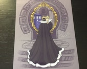 Mirror, Mirror, On The Wall Postcard (Item 09-372)