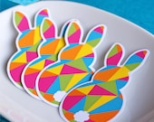 Instant Download - EASTER Bunny Cupcake Toppers (pink) - DIY Printable