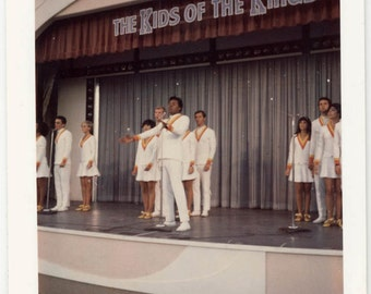 Vintage photo 1968 Theater Kids of Kingdom Disneyland