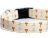Arrow Dog Collar, Custom Collar, Follow Me