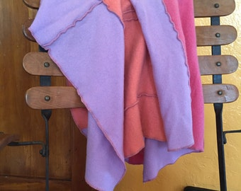 100% Cashmere Baby Blanket made from recycled cashmere.