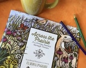 Across the Prairies; A Coloring Journey though Nature