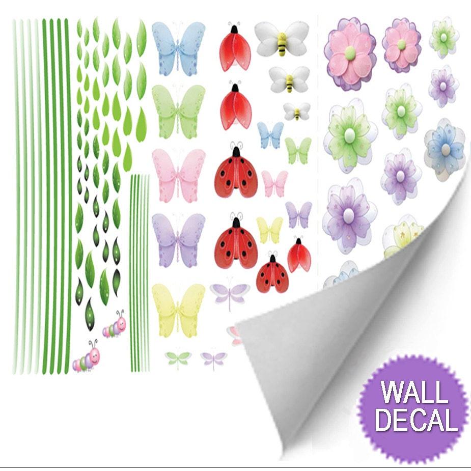 Ladybug Bedroom Ladybug Wall Decal Etsy