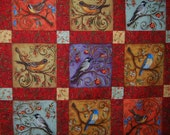 LEGACY STUDIO Nestled in the Branches quilt top finish me