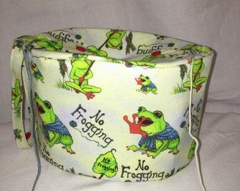 No Frogging Oval Yarn Owl project bag