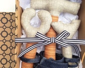 First Baby Tool Set, Hammer Rattle, Newborn Gift Box Set, Baby Boy Builder