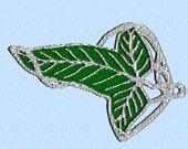 Set of 6 elf leaves