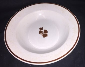 Antique Wedgwood Tea Leaf Bowl