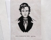 Mr Rochester - Illustrated Card - Jane Eyre Card
