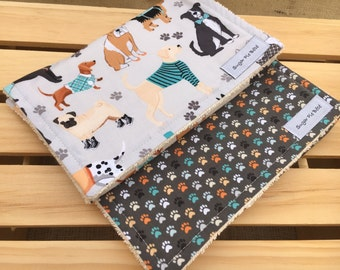 Burp Cloths / Baby Gifts / Baby Gifts with dogs
