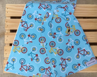 Baby Bibs / Bibs / Burp Cloths / Baby Shower Gifts / Baby Gifts with Bikes