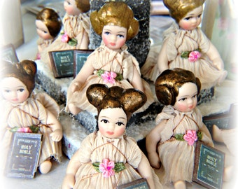 Porcelain Baby Angel Ornament doll