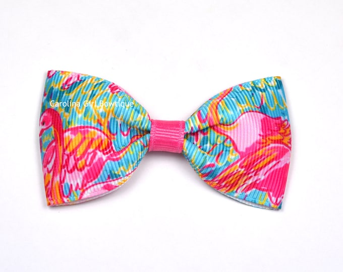 "Peel -n- Eat ~ 3"" Hair Bow Tuxedo Bow ~ Lilly Inspired ~ Simple Bow ~ Boutique Bow for Babies Toddlers ~ Girls Hair Bows"