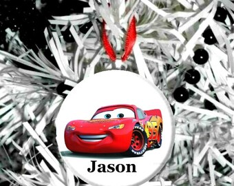 Disney Cars Lightning McQueen Christmas Tree Ornament