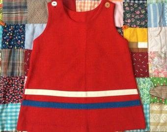 60s Toddler Mod Dress 3/4T