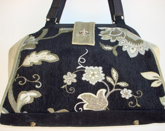 Bella Handbag/Knitting Bag/Project Bag-SOUTHERN CHARM