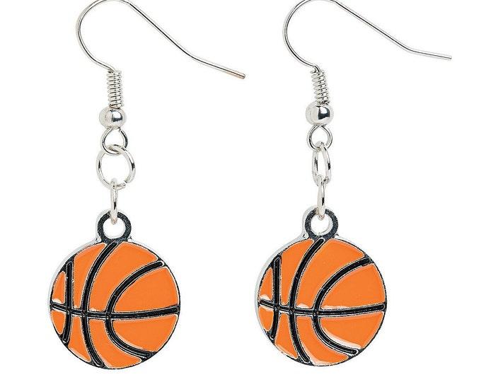Basketball Earrings