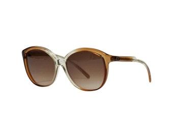 Vintage von Furstenberg Sunglasses | 70s oversized brown Eyeglasses | Italian Eyewear in New Old Stock Condition