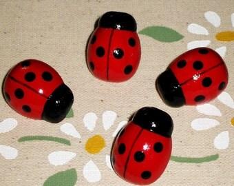 Ladybug Push Pins for Bulletin Board