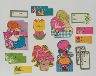 19 Retro Gift Tags 1960s