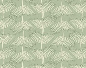 Forest Floor fabric by Bonnie Christine for Art Gallery Fabrics, Nature fabric, Green fabric, Nursery Decor, Laced Moss,  Choose your cut