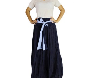 Boho Hippie 2 in 1 Smock Maxi Dress& Summer Long Skirt (SD 04)