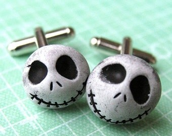 Christmas in July - Nightmare Before Christmas CUFF LINKS