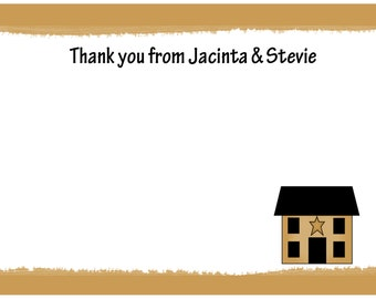 20 Personalized Thank You Cards -  Housewarming Party -  New Home - Housewarming