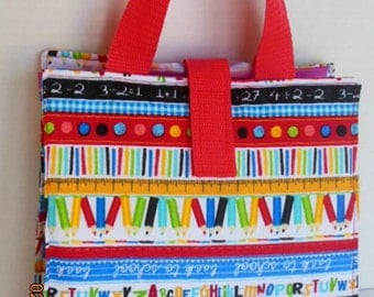 Kids Activity/Coloring/Reading Tote Bag